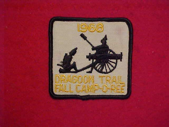 1968 DRAGON TRAIL FALL CAMP-O-REE, USED