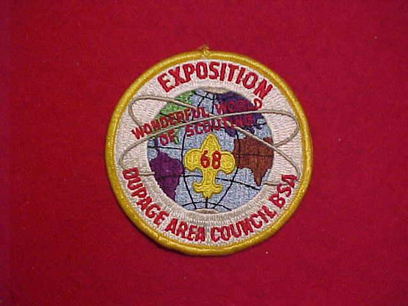 1968 DUPAGE AREA COUNCIL EXPOSITION, USED