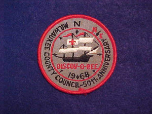 1968 MILWAUKEE COUNTY COUNCIL DISCOV-O-REE