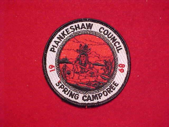 1968 PIANKESHAW COUNCIL SPRING CAMPOREE