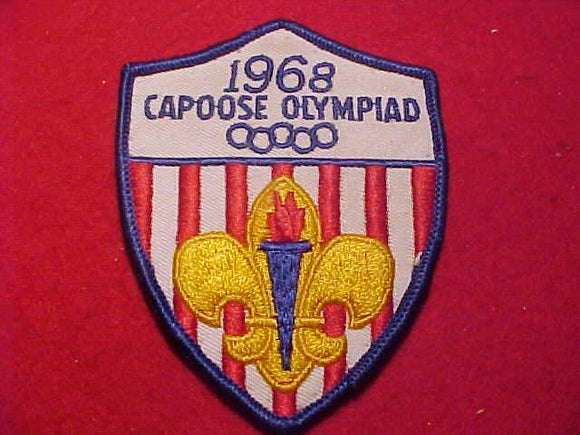 1968 PATCH, CAPOOSE OLYMPIAD