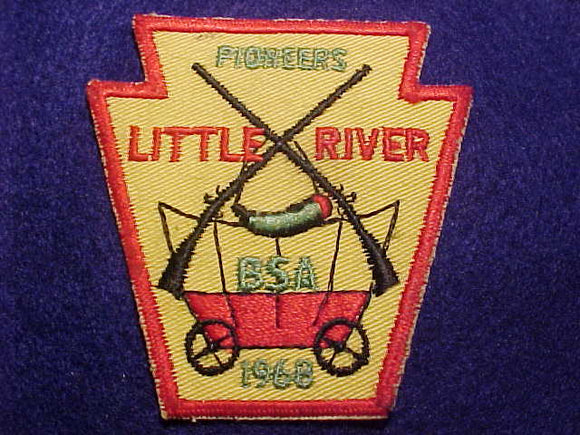 1968 PATCH, LITTLE RIVER PIONEERS