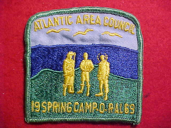 1969 PATCH, ATLANTIC AREA C. CAMP-O-RAL