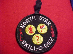 1969 PATCH, NORTH STAR FALL SKILL-O-REE