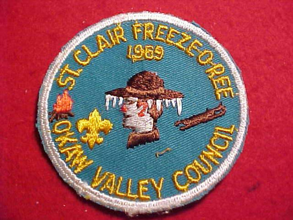 1969 PATCH, OKAW VALLEY C., ST.CLAIR FREEZE-O-REE