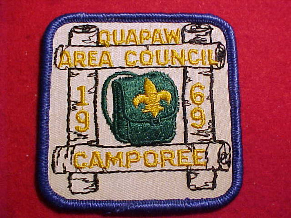 1969 PATCH, QUAPAW AREA C. CAMPOREE