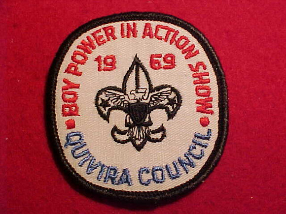 1969 PATCH, QUIVIRA C. BOY POWER IN ACTION SHOW