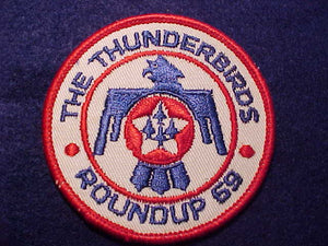 1969 PATCH, THUNDERBIRDS ROUNDUP