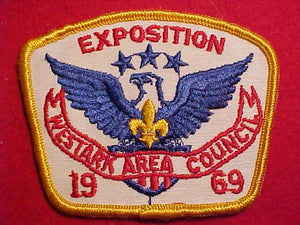 1969 PATCH, WESTARK AREA C. EXPOSITION