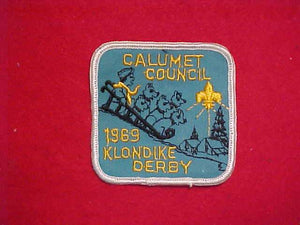 1969 CALUMET COUNCIL KLONDIKE DERBY