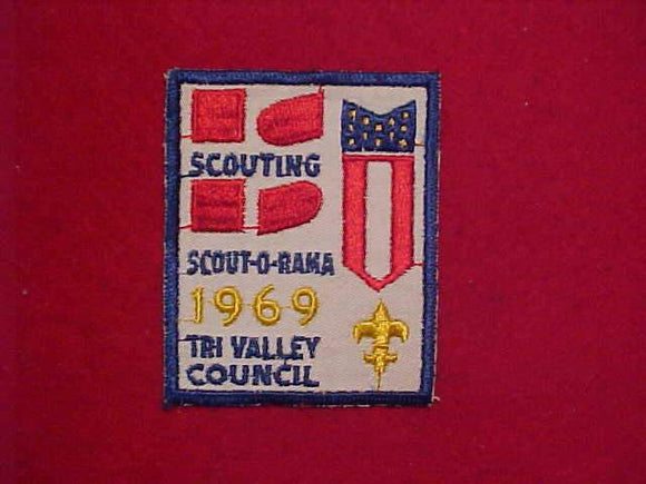 1969 TRI VALLEY COUNCIL SCOUT-O-RAMA, USED