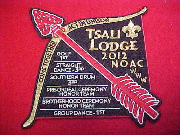 134 J7? Tsali jacket patch