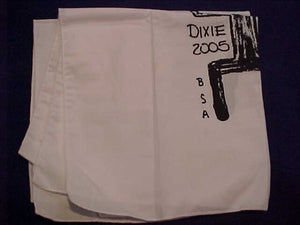 "270 SKYUKA, 2005 DIXIE ""RALLY RAG"", FEED THE FLAME, 16X17"", WHITE"