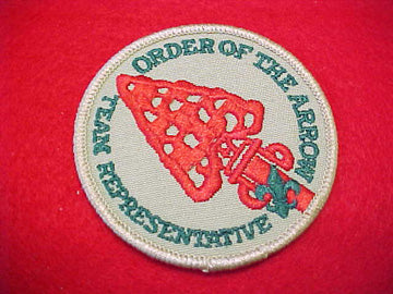 ORDER OF THE ARROW TEAM REPPRESENTATIVE