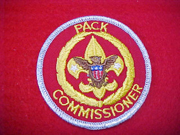 PACK COMMISSIONER, TRAINED, SMY BORDER, 1973-89