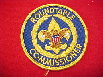 ROUNDTABLE COMISSIONER, 1970-72