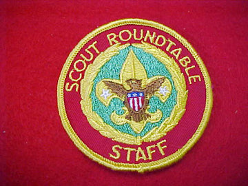 SCOUT ROUNDTABLE STAFF, 1973-95