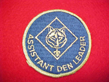 ASSISTANT DEN LEADER, TRAINED, 1973-89