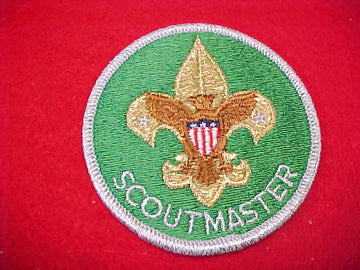 SCOUTMASTER, TRAINED, SMY BORDER, MINT, 1973-89