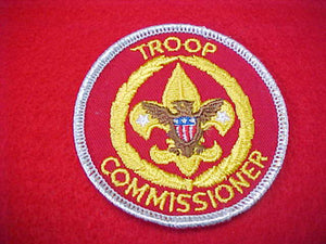 TROOP COMMISSIONER, TRAINED, SMY BORDER, 1973-89
