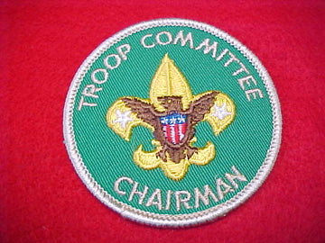 TROOP COMMITTEE CHAIRMAN, 1973-89