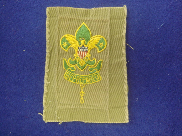 Assistant Scoutmaster Square Used, Very Good Condition 1920-37 No Line In Crown of FDL
