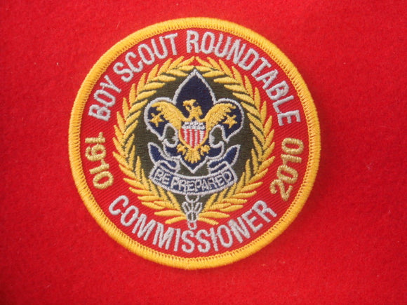 Boy Scout Roundtable Commissioner 1910-2010