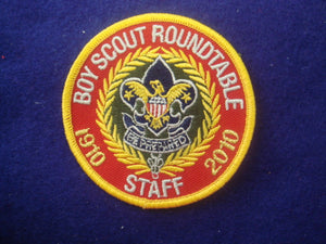Boy Scout Roundtable Staff 1910-2010