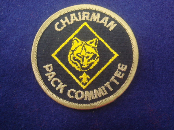 Chairman Pack Committee Light Bronze Border 1974-90's