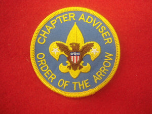 Chapter Adviser Order Of The Arrow 1973-Present
