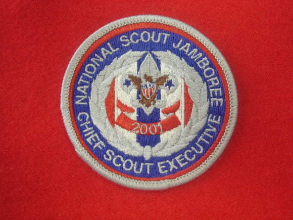 Chief Scout Executive 2001 National Jamboree