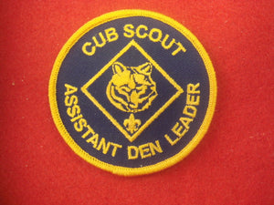 Cub Scout Assistant Den Leader 2000's Scout Stuff Back