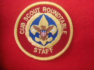 Cub Scout Roundtable Staff Computer Designed #AP67B