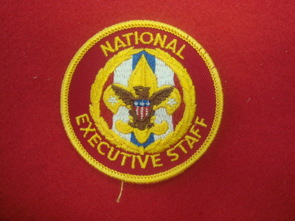 National Executive Staff 1973+ Medium Red Twill