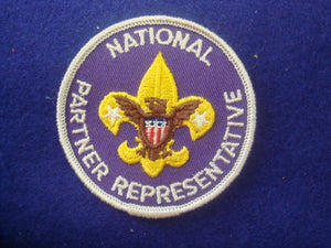 National Partner Representative Not Fully Embr'd 1973-80's
