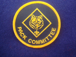 "Pack Committee 1990's-Present Oval ""O"""