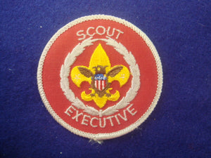 Scout Executive 1970-Present