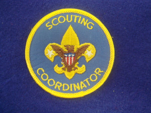 Scouting Coordinator 1976-89 Blue Twill