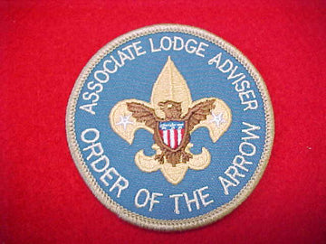 ASSOCIATE LODGE ADVISER, ORDER OF THE ARROW