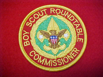 BOY SCOUT ROUNDTABLE COMMISSIONER 1992+