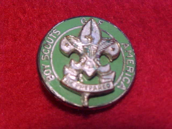 SCOUTMASTER CIVILIAN WEAR LAPEL PIN, 17MM DIAMETER ROUND