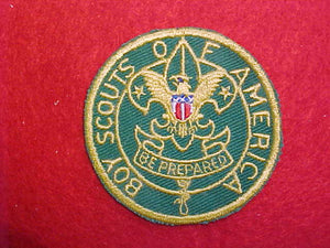 ASSISTANT SCOUTMASTER, CUT EDGE, 1938-1966