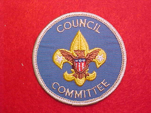 COUNCIL COMMITTEE, 1973+