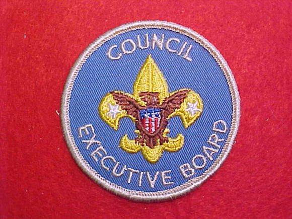 COUNCIL EXECUTIVE BOARD, 1973+