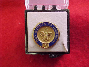VETERAN PIN, 10 YEAR, MARKED 10K GOLD, ROBBINS CO. ON BACK