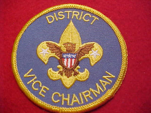 DISTRICT VICE CHAIRMAN, 1996-2009, YELLOW BDR.