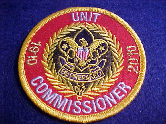 UNIT COMMISSIONER, 1910-2010