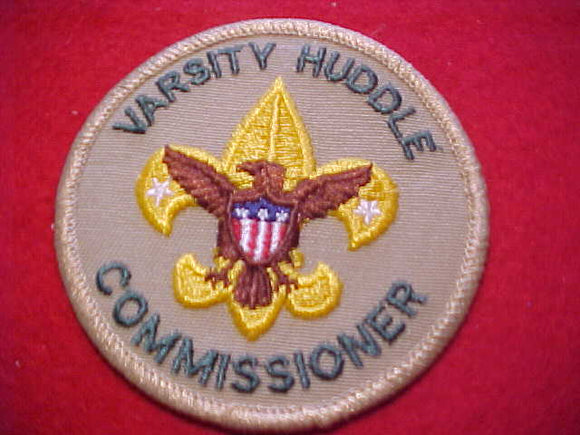 VARSITY HUDDLE COMMISSIONER, 1989-95