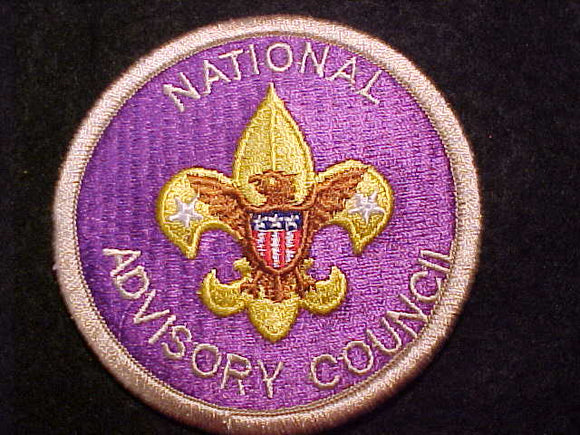 NATIONAL ADVISORY COUNCIL POSITION PATCH, VERY RARE, SHORT- LIVED POSITION