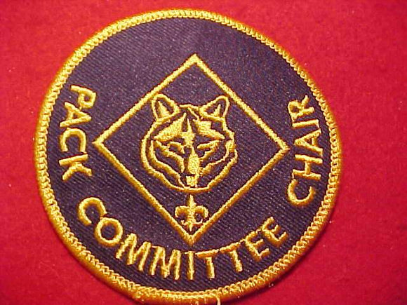 PACK COMMITTEE CHAIR, 2009-